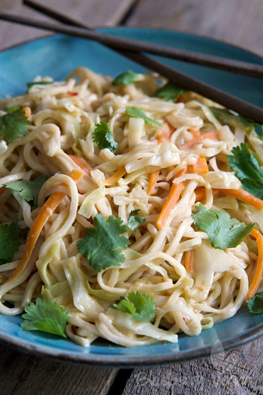 Creamy ThaiPasta Recipe Thai pasta, Asian recipes, Pasta