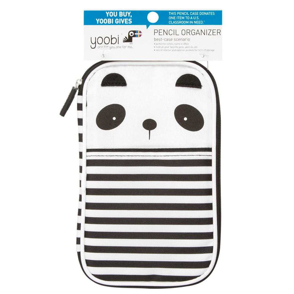Yoobi Panda Pencil Organizer Black And White Products