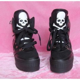 Chaussure Bottes Baskets Boots Creepers Rock Bottines Sport hQCdtrxs