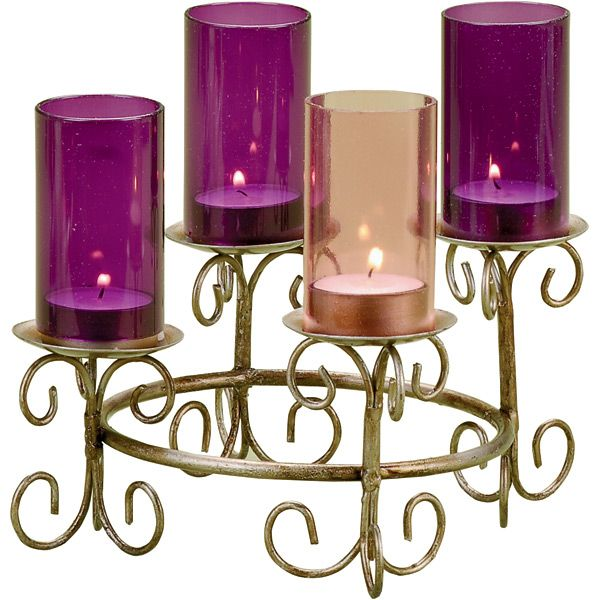 tea light advent wreath advent advent candles advent. Black Bedroom Furniture Sets. Home Design Ideas