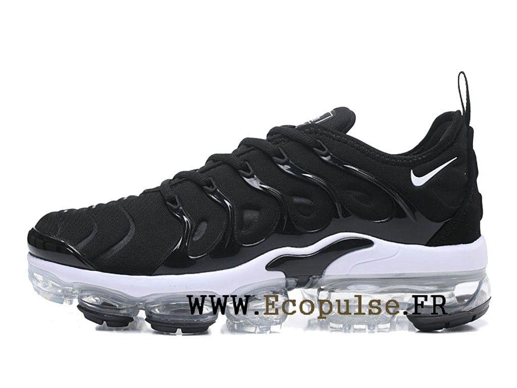 ae7cf56b4ad Nike Air VaporMax Plus 2018 Chaussures Bleached Aqua TN Pas Cher Homme Noir    blanc AO4550