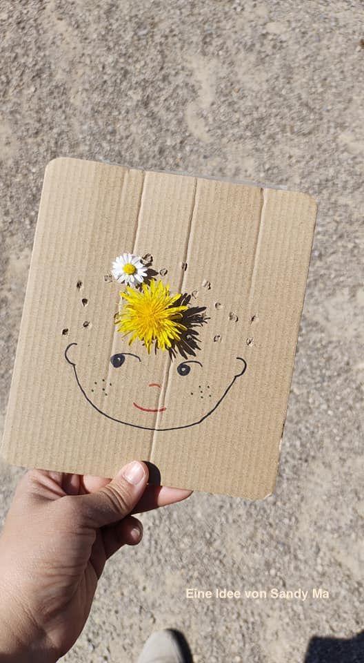 Blumensafari für kleine Künstler - eine Idee von Sandy Ma