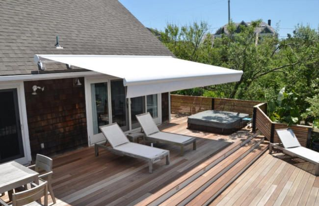 Retractable awning for patioretractable awning for patio   BACK GARDEN   Pinterest  . Retractable Awnings For Decks And Patios. Home Design Ideas