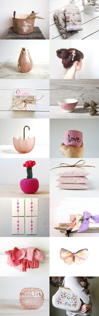 Pink Valentine by Shannon on Etsy--Pinned with TreasuryPin.com