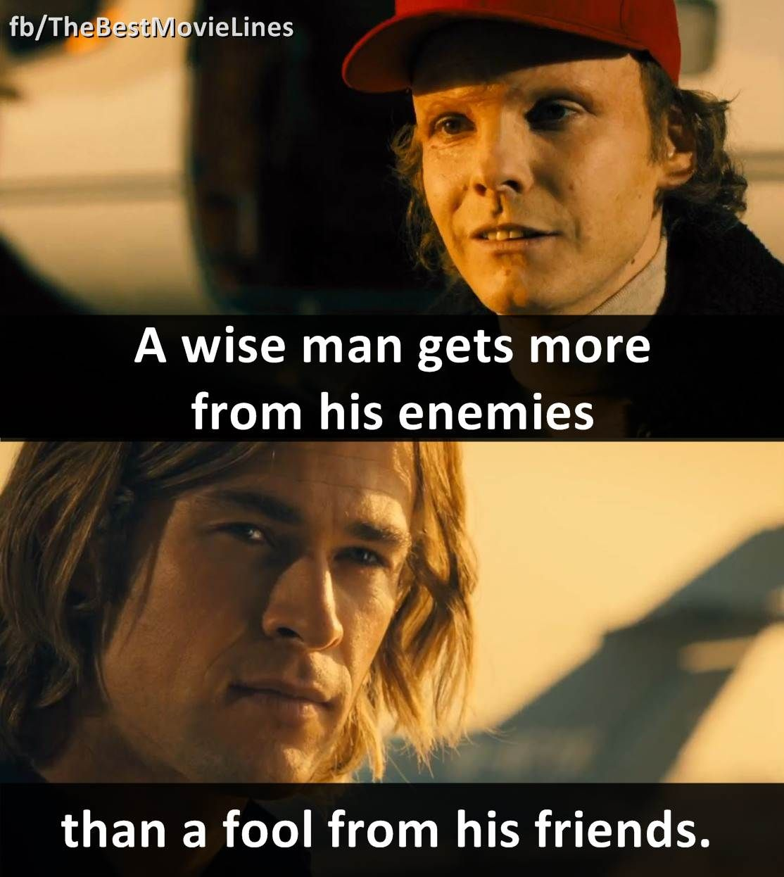 quota wise man gets more from his enemies than a fool from