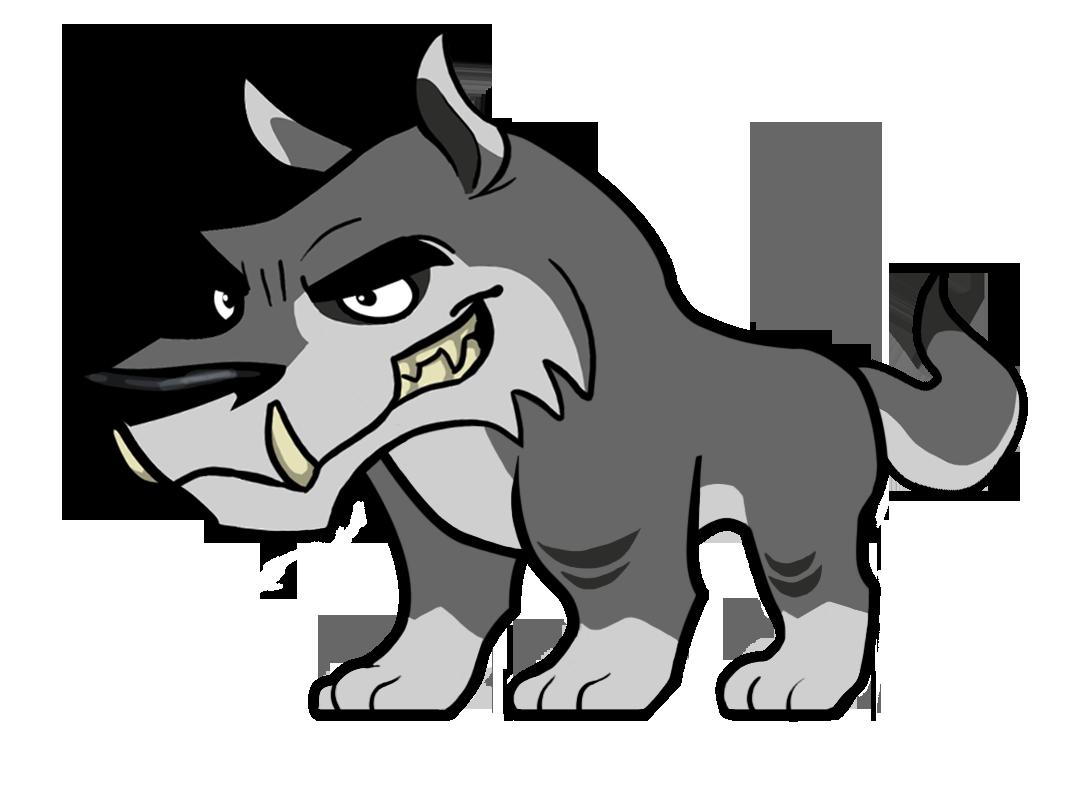Baby Wolf Mascot Cartoon Cartoons Png Cartoon Animals