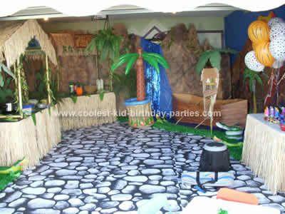 Safari Partylove The Hut Idea