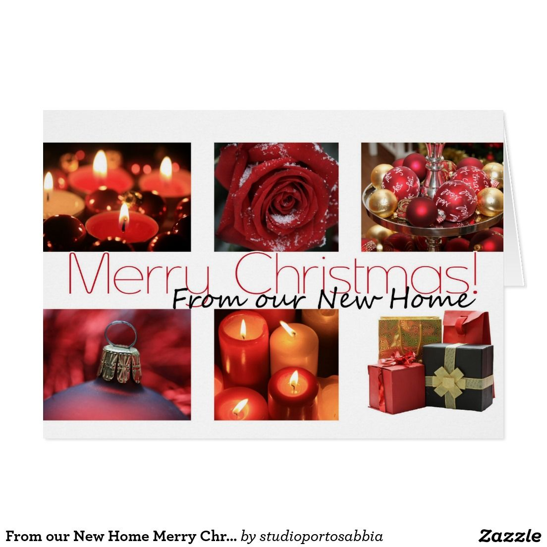 From our New Home Merry Christmas Card | New Address Announcements ...