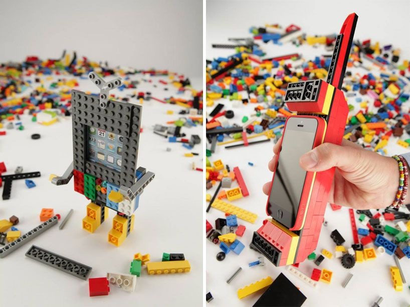 LEGO x belkin iPhone 5 builder case