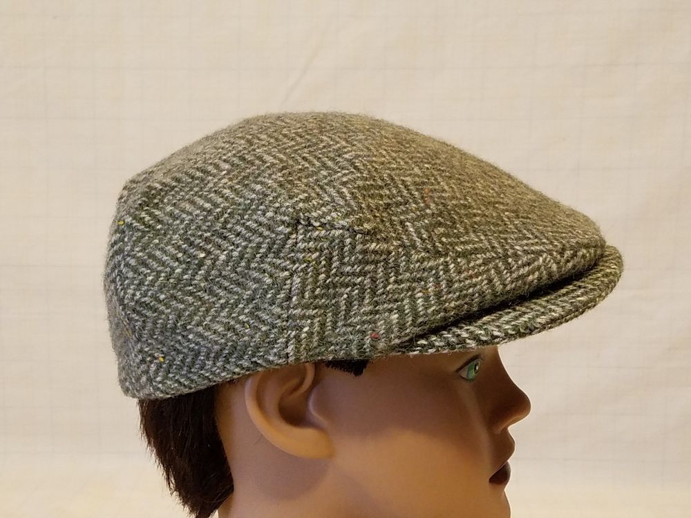 6157038f7 ORVIS Pure New Wool Men's Cabbie Newsboy Gatsby Hat - sz M - made in ...