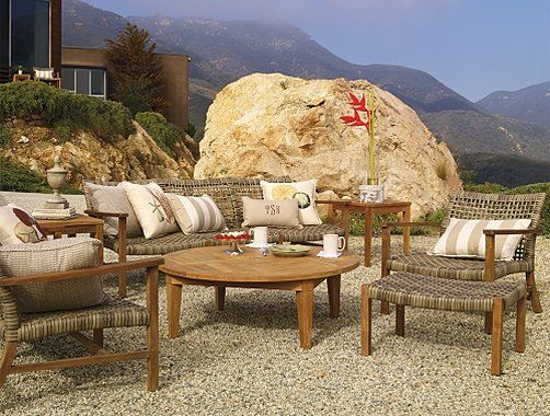 Frontgate Isola Outdoor Furniture Collection   Patio Furniture Sets    Hereu0027s Another Option With Hardly Any