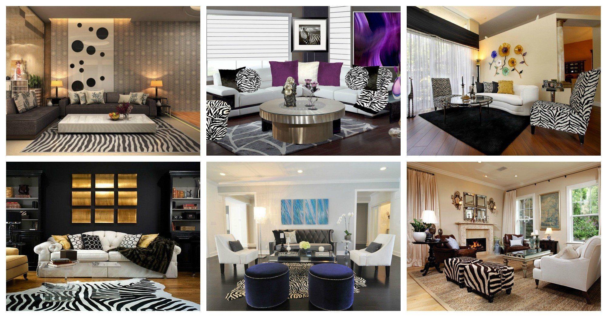 35 Lovely Zebra Decor for Living Room | Zebra living room ...