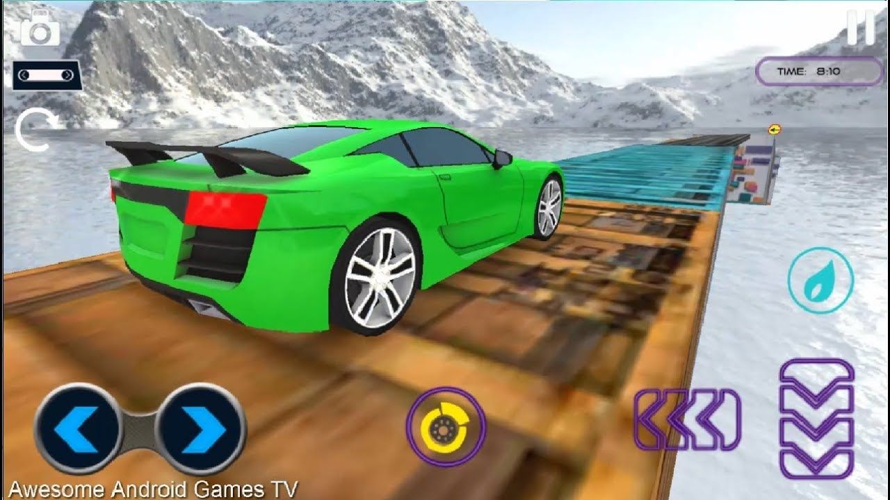Fun Race 3d Real Impossible Track Stunt Car Racing Real Impossible Tr Cool Sports Cars Racing Simulator Amazing Race