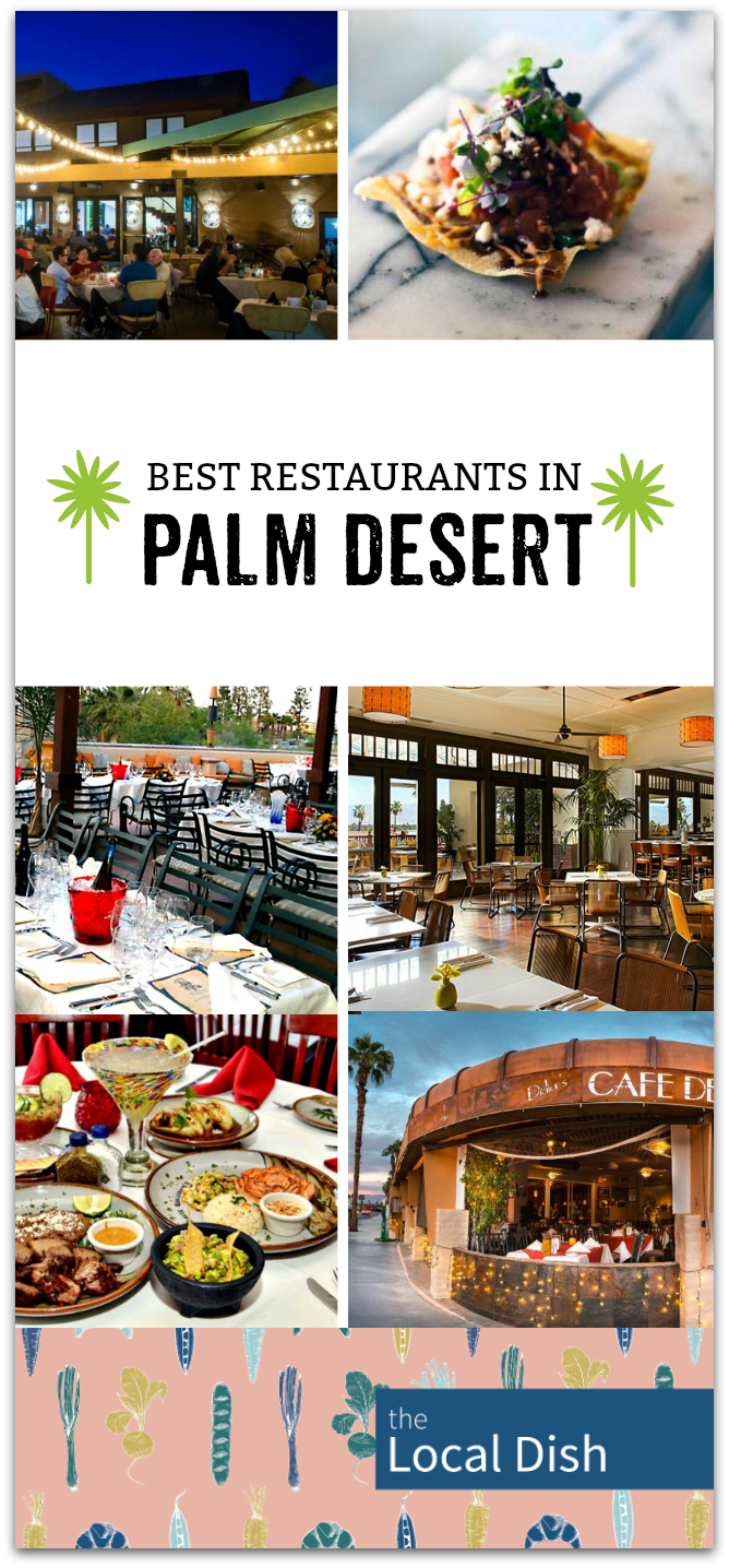 Photo of Los mejores restaurantes de Palm Desert: el plato local | Tabler Party of Two