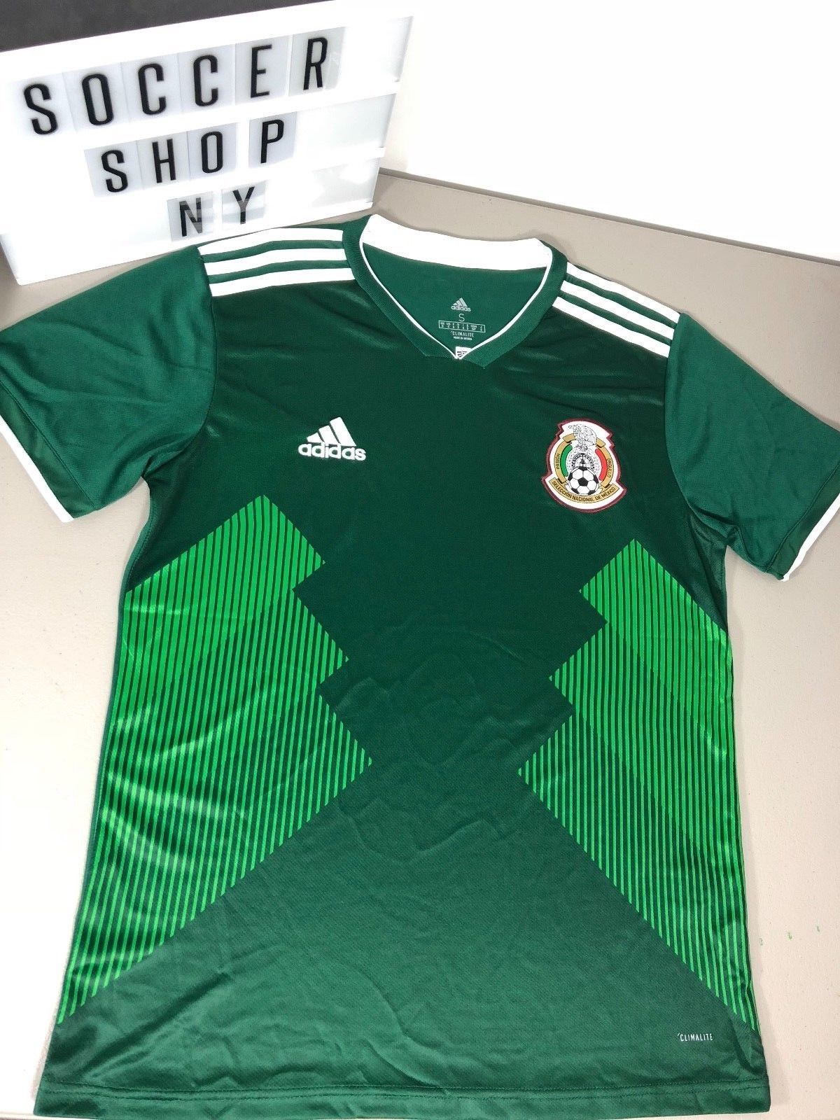 9e2da100 Adidas Mens Mexico Home Jersey World Cup 2018 Small Medium BQ4701 Discount  Price 62.99 Free Shipping Buy it Now