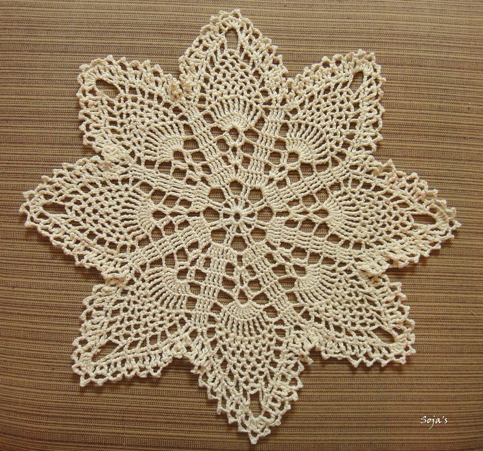 Ravelry: Easy Pineapple Doily by Sylvia Landman | crochet ...