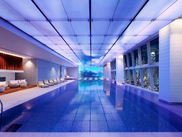 Amazing Indoor/Outdoor Pool
