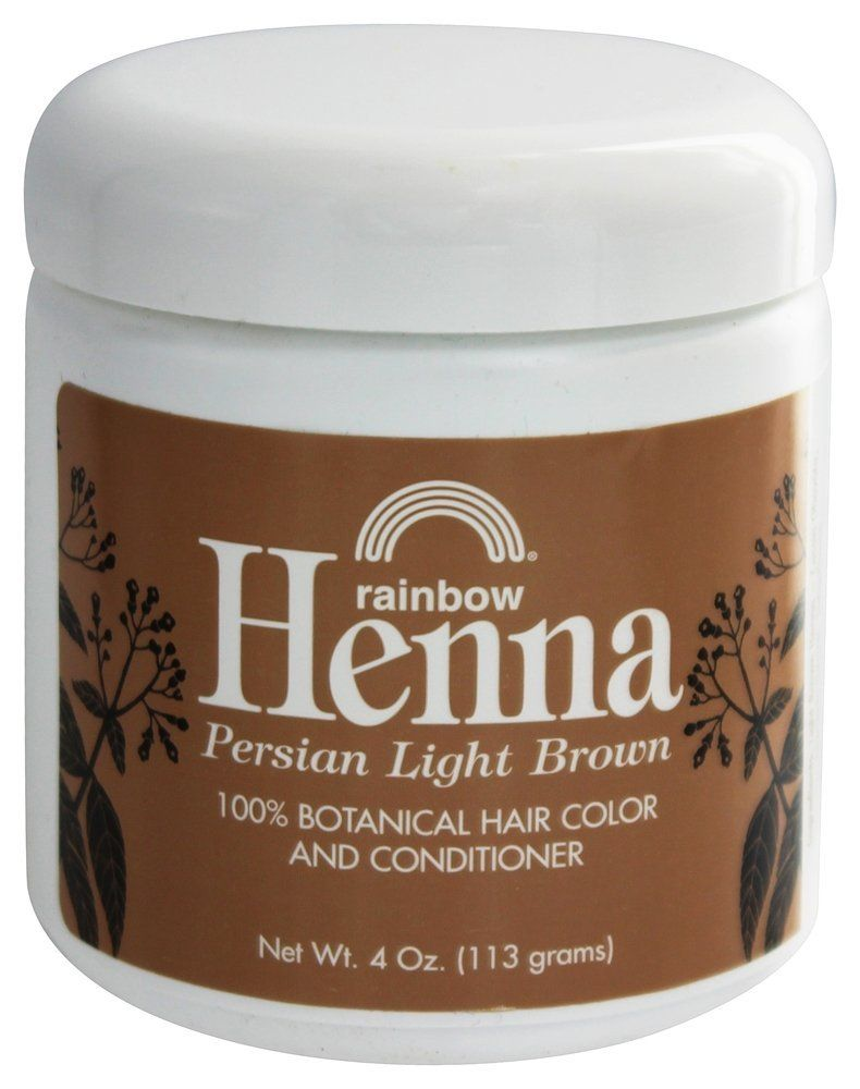 Rainbow Research Hennapersian Light Brown 4 Oz Pack Of 2 Want