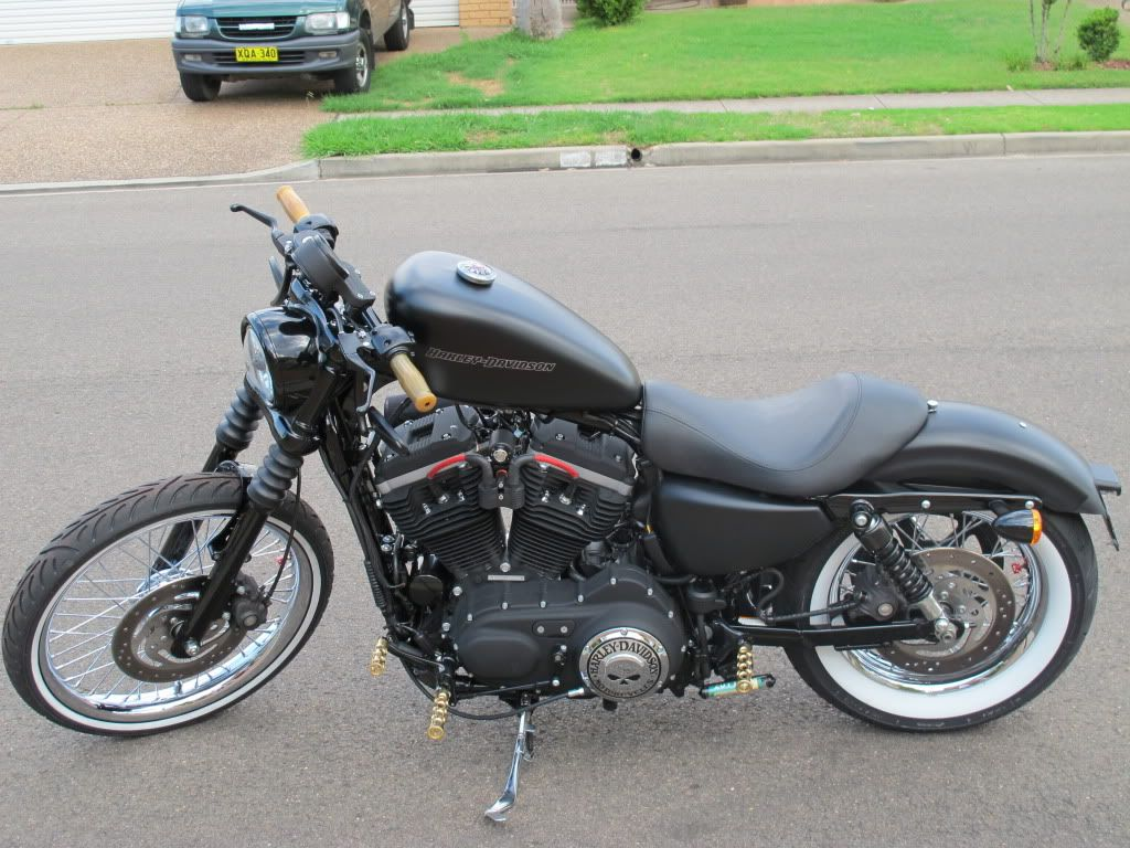 Harley Release the New Sportster 72 - HD Forums Australia