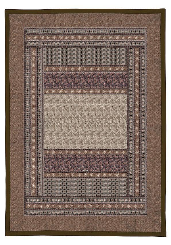 Tolles Plaid »Leonardo« der Marke Bassetti. Schöne Farben, Blumen, Paisleys und vieles mehr finden Sie auf diesem Design. Wer es klassisch mag, ist mit diesem Überwurf von Bassetti sehr gut beraten. Die edle Decke in den gedeckten Farben ist mit einer Füllung aus 100% Polyester versehen. Das Außenmaterial besteht aus reiner Baumwolle. Die feine Mako-Satin Qualität fühlt sich weich an schenkt de...