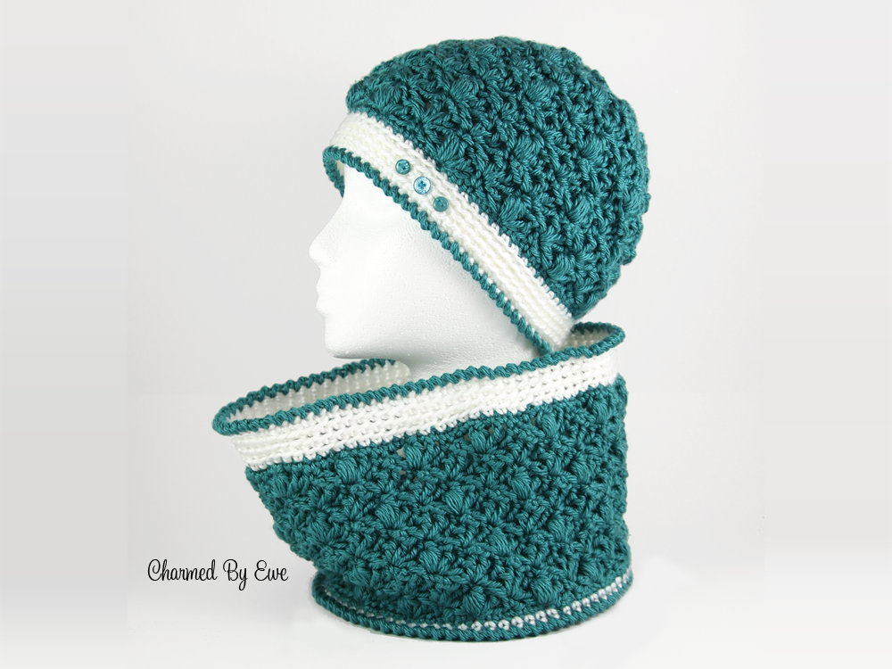 Free Celestial Circle Cowl Crochet Pattern | Crochet Patterns (4 Mom ...