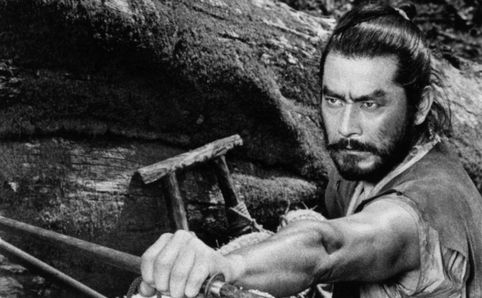 The Great Toshiro Mifumi.  My favorite movie with him is Seven Samurai but he was astonishing in every role he played. One of the best method actors to ever grace the screen!