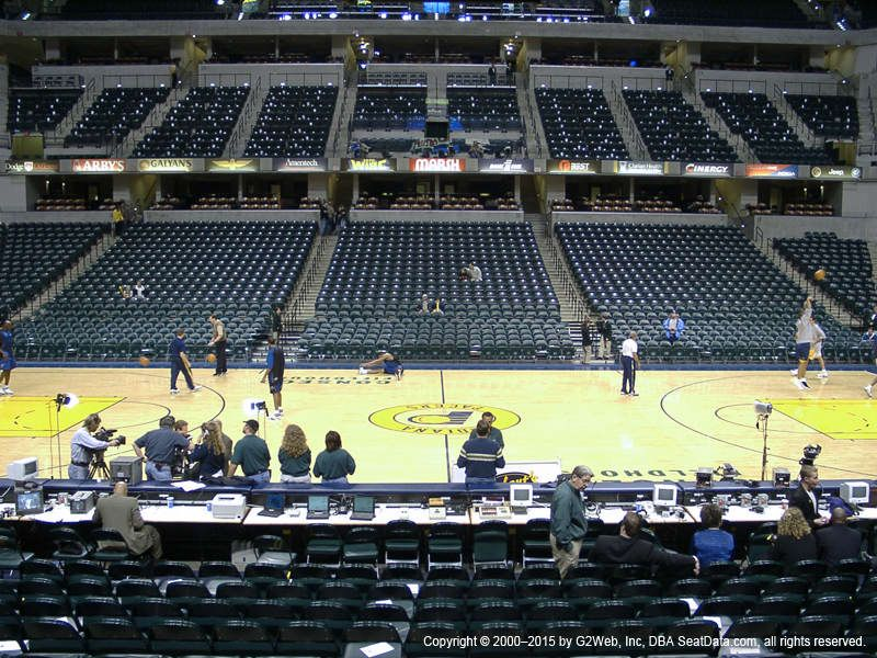 Lower Level 5 Indiana Pacers Indiana Vivid Seats