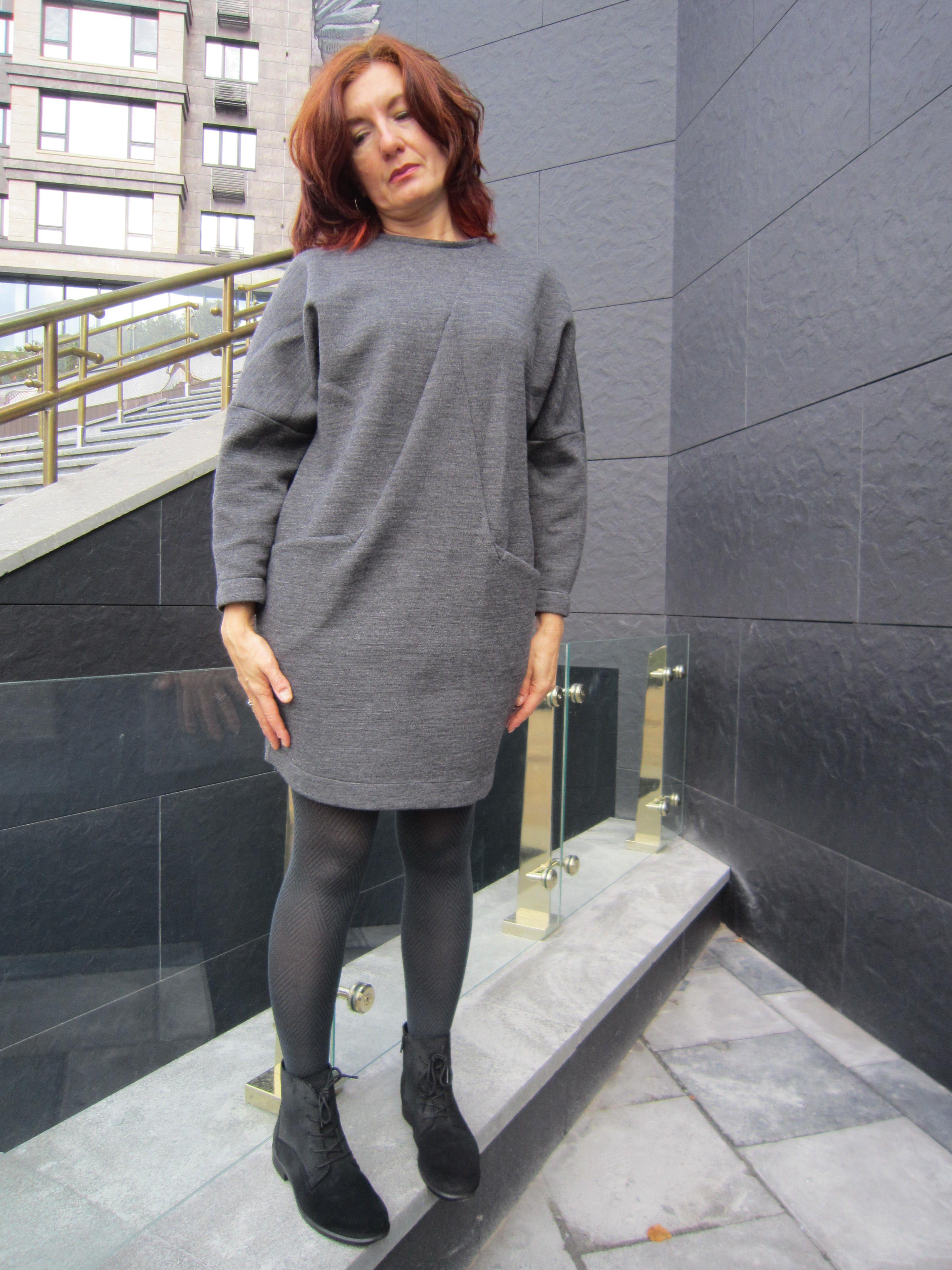 d8f74642b2c4 Платье-свитшот – модная одежда, идеально сочетающая в себе практичность,  комфорт и женственность