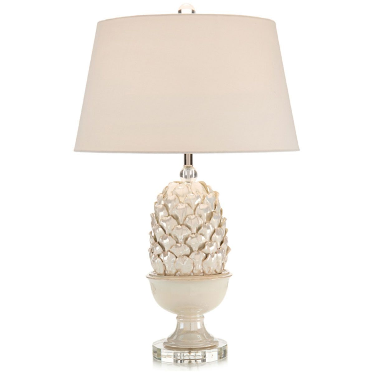 John richard pearlized artichoke table lamp cozy living room john richard pearlized artichoke table lamp geotapseo Image collections