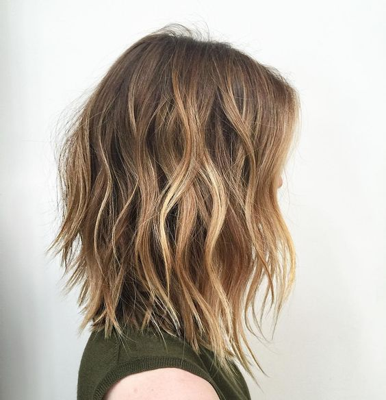 Soft A Line Haircut Style Buddywporter Color