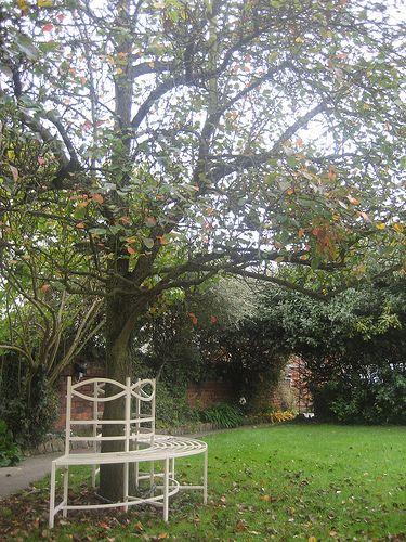Garden bench Bancos, Herrería y Descansando - jardines con bancas