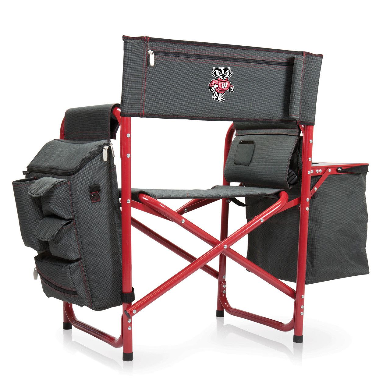 Wisconsin Badgers Fusion Tailgating Chair Backpacking