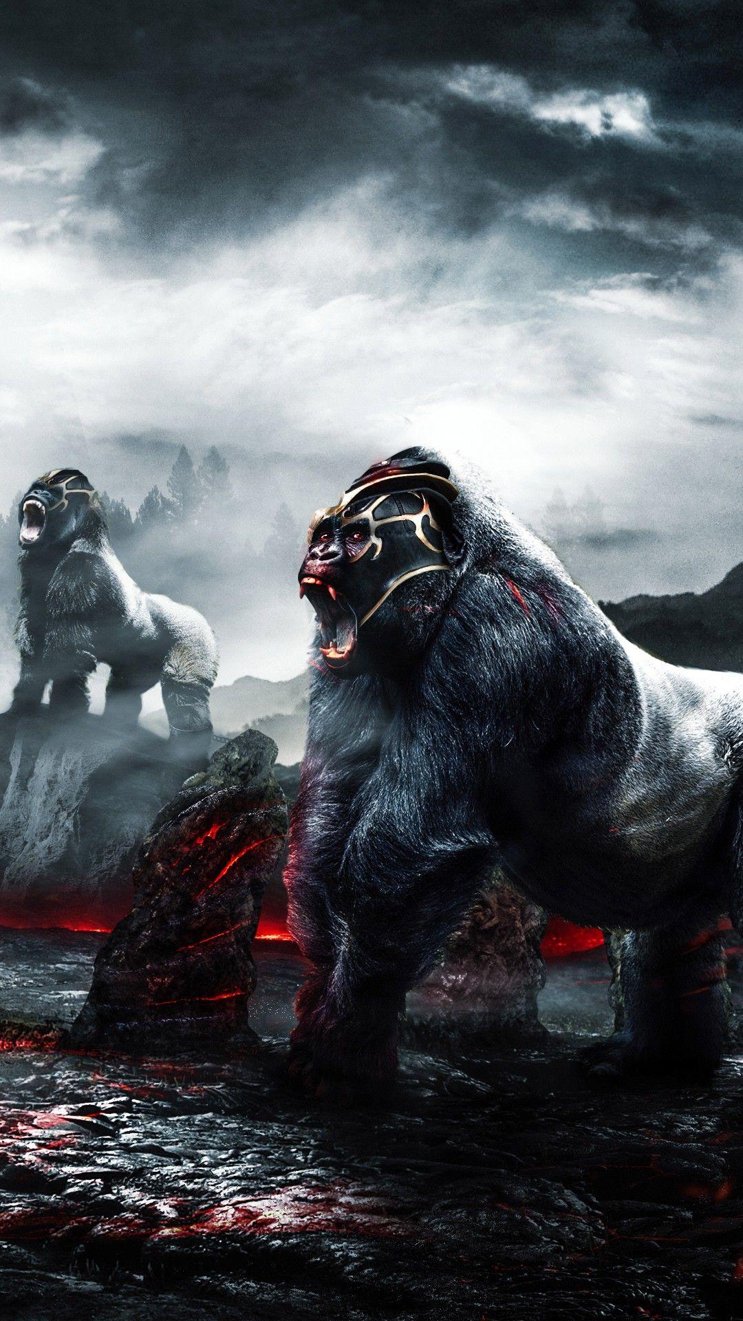 Misc Gorilla Warriors 4k Wallpapers
