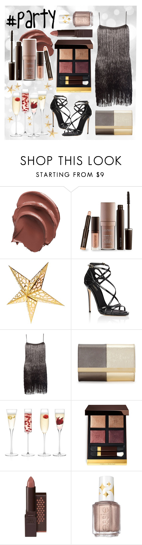 """Friday night party 🎉"" by laura-jayne-crook ❤ liked on Polyvore featuring Laura Mercier, Dolce&Gabbana, Rachel Zoe, Fendi, LSA International, Tom Ford, Burt's Bees and Essie"
