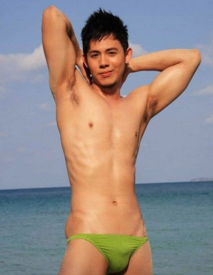Asian boys swimwear
