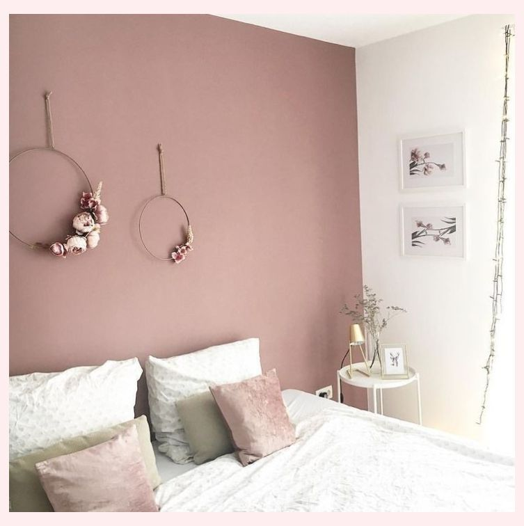 Pink Bedroom Decor Ideas Dyi Home Renovations In 2020 Pink Bedroom Walls Dusty Pink Bedroom Pink Bedroom Decor