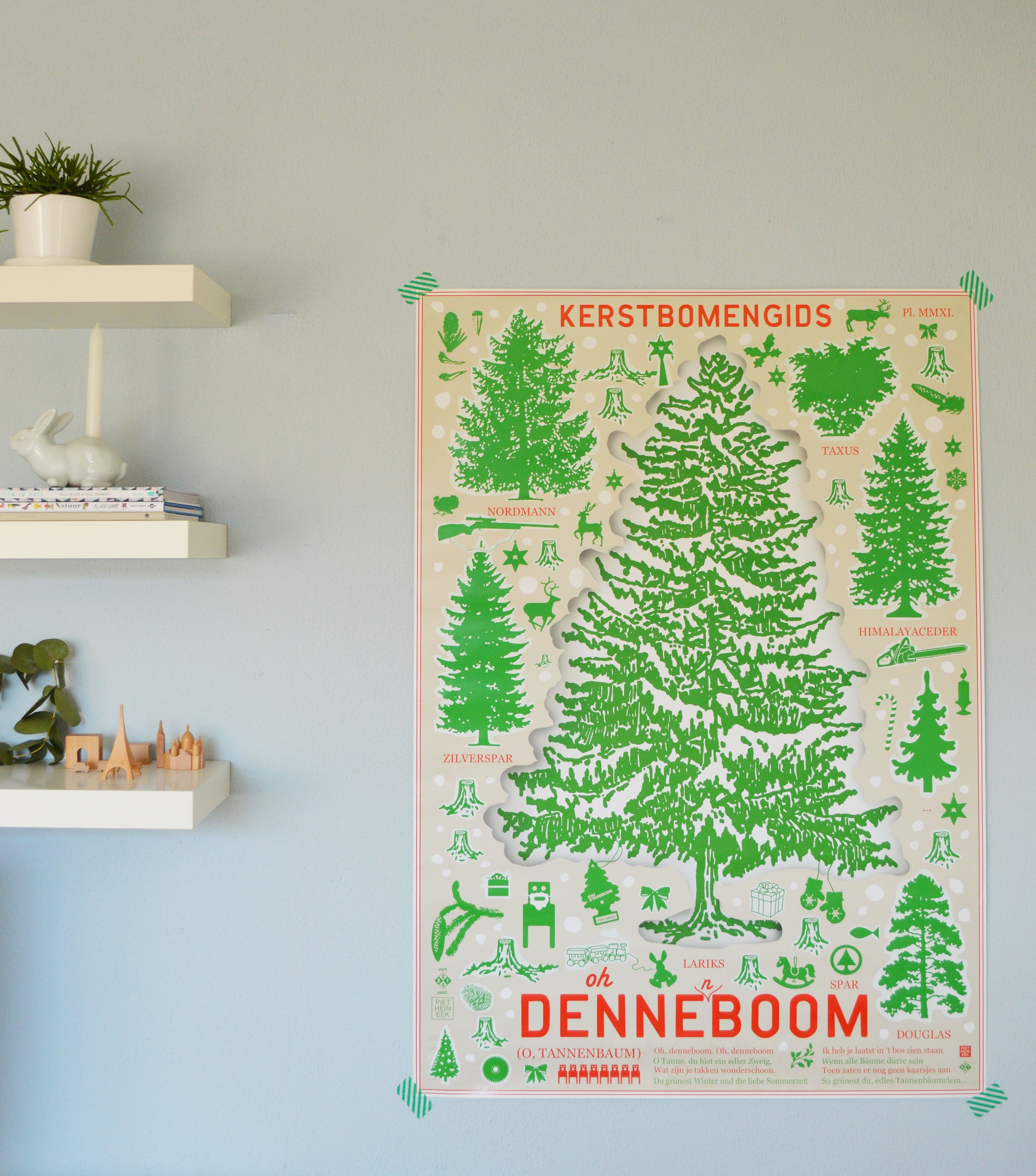 Oh Denneboom Thanks Neongroen For This Lovely Picture Poster Oh Denneboom