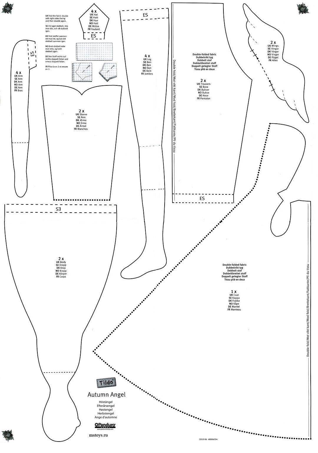 Схемы платьев, костюмов.на Тильду - Форум | Tilda + softi dolls ...
