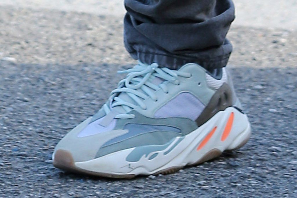 ca87777dc7d87 An adidas Yeezy Wave Runner 700 With A Gum Bottom Surfaces