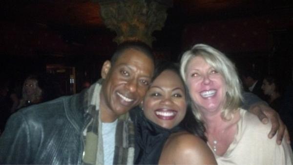 Ran into actor Orlando Jones at first Michael Jackson ONE Show at Mandalay Bay. Claire Bowling (wife of Mandalay Bay COO-Chuck Bowling) and I had a blast.