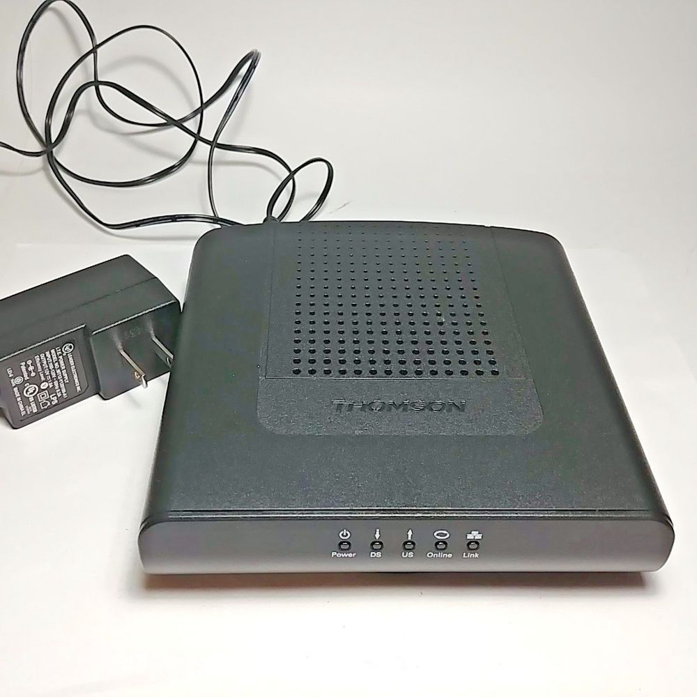 Used & Working THOMSON Cable Modem Model: DCM476 With the Power ...