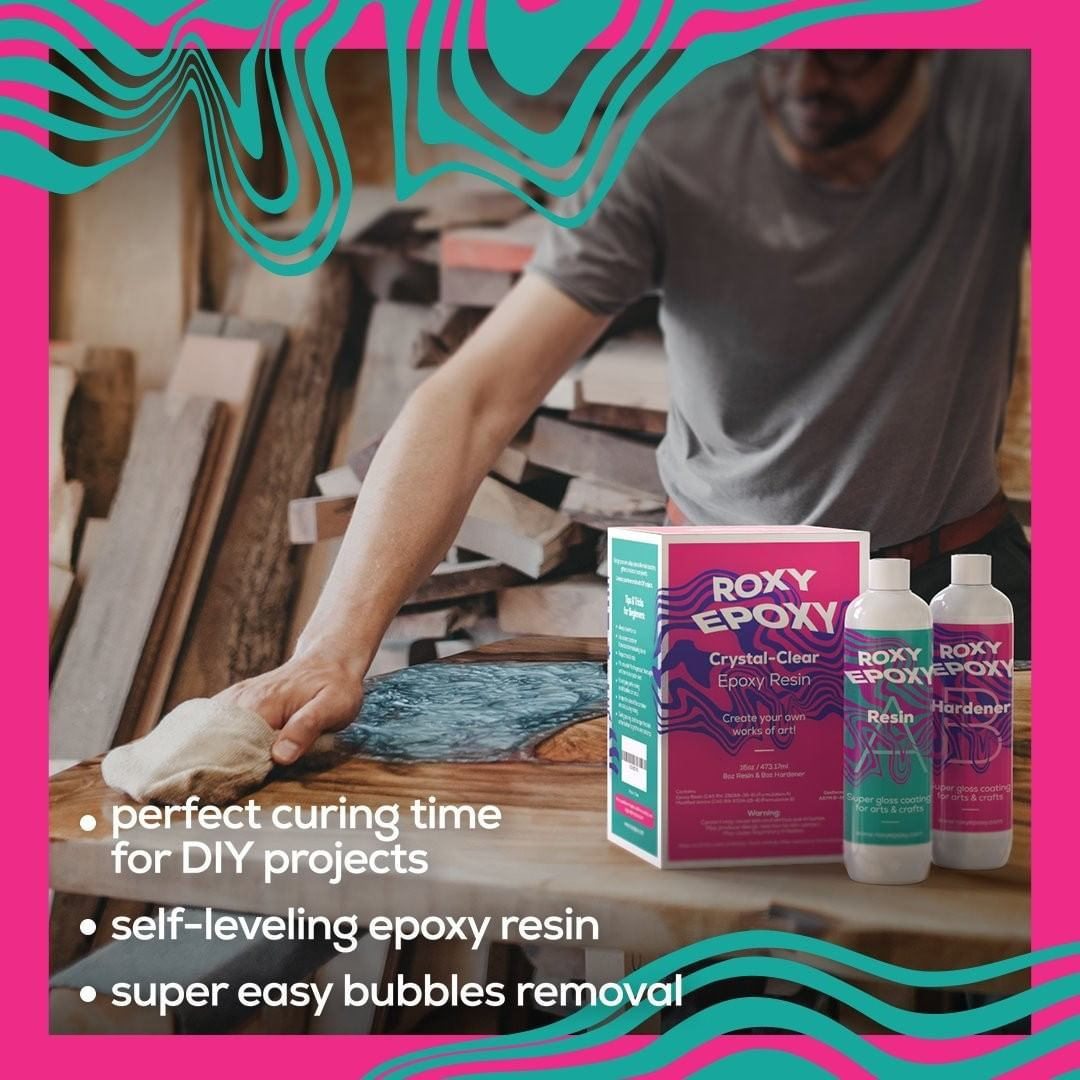 Are you looking for a clear, sturdy, and reliable epoxy resin? You've come to the right place. Ours is scratch-resistant, water-resistant, and allows easy bubbles removal. Your projects will look brand new for years to come! 🤩 . . #epoxy #epoxyresin #epoxyart #crafts #art #project #diy #resin #resinartwork