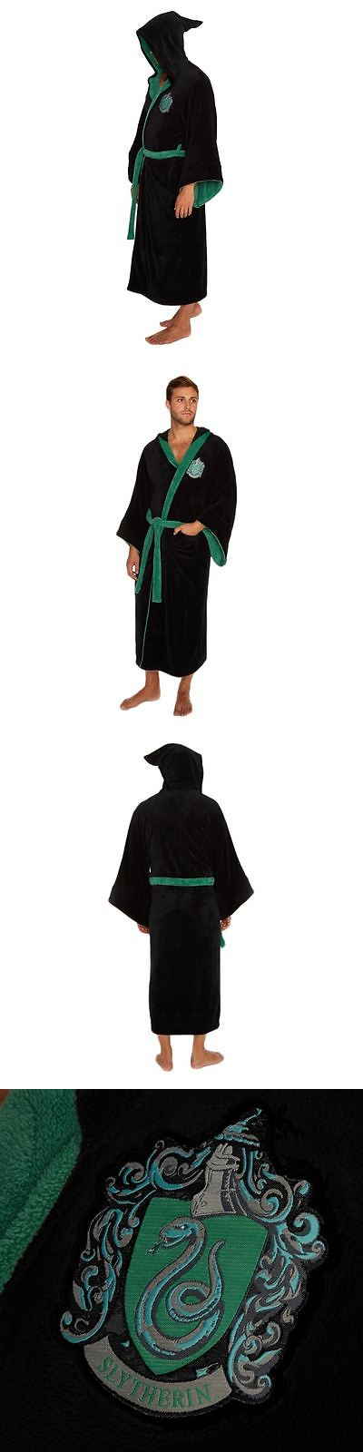 Sleepwear and Robes 11510: Official Harry Potter Hogwarts Slytherin ...