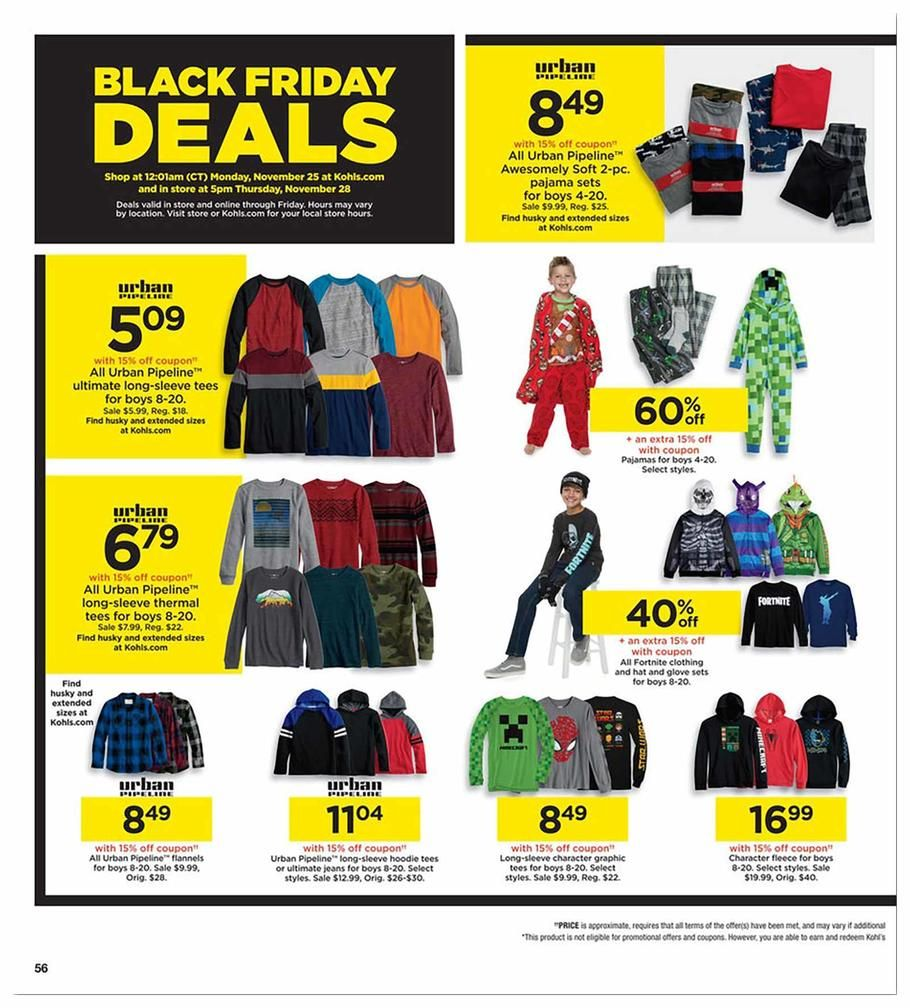Kohls Black Friday 2019 Ads And Deals Browse The Kohl S Black Friday 2019 Ad Scan And The Complete Product By Product Sales Listing Kohls Kohlsblackfriday B Di 2020