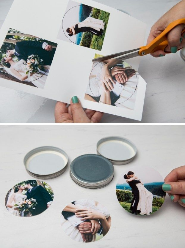 You HAVE To See These Adorable DIY Photo Resin Coasters! #masonjardiy