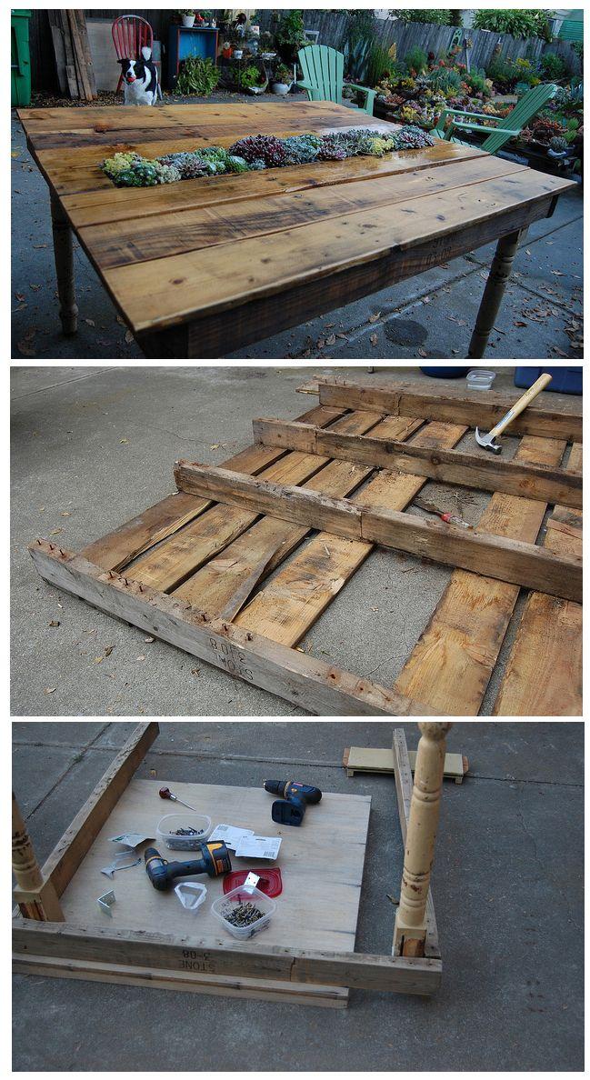 Palet love reutilizar cosas hechas con palets muebles - Cosas hechas con palets ...