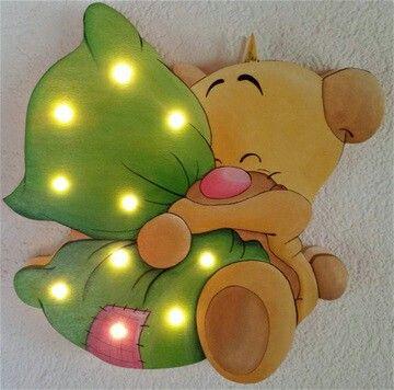 Pimboli mit kissen schlummerlampen pinterest kissen holzarbeiten und stichs ge - Wandlampe holz basteln ...