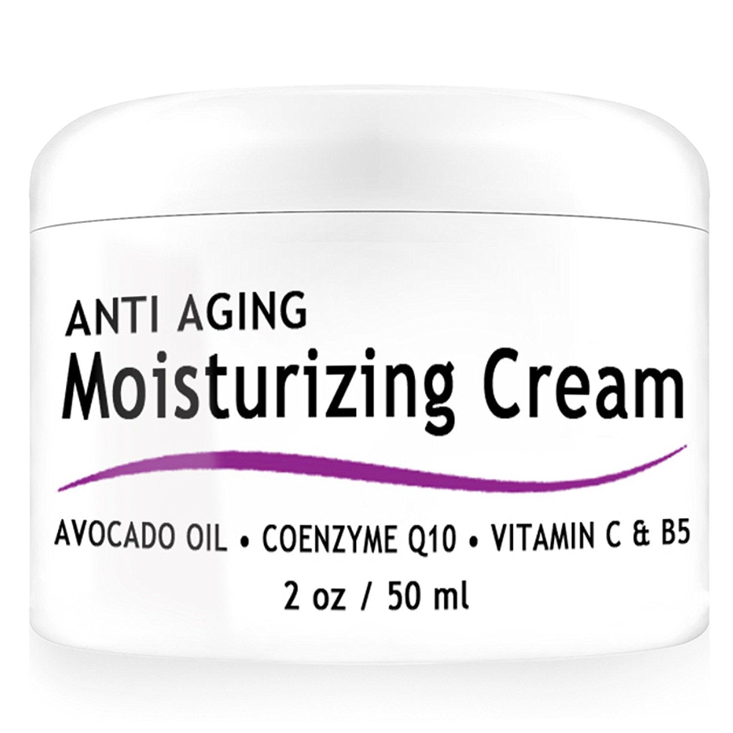 Ad Vent Products Organic Anti Aging Moisturizing Cream With Coenzyme Q10 Vitamin C And B5 For Dry Skin Moisturizer Cream Dry Skincare Face Products Skincare