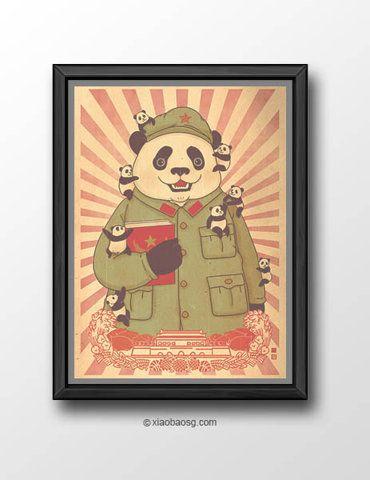 Panda Revolution XXI from xiaobaosg on Storenvy