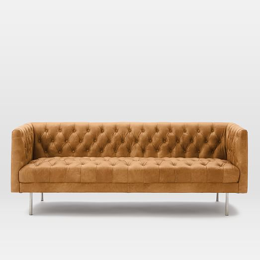 Modern Chesterfield Leather Sofa In 2020 Leather Sofa Leather Chesterfield Sofa Sofa